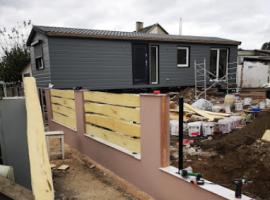 Könnyûszerkezetes ház építés